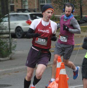 Rob Madej achieves marathon running goals